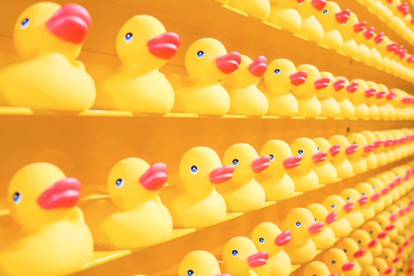 Ways to Repurpose Content with Yellow Rubber Ducks.