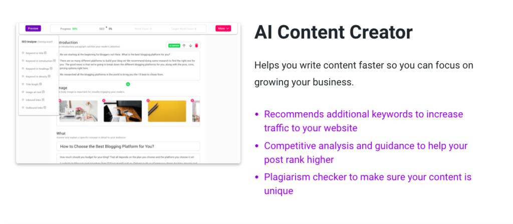 Bramework AI Content creator